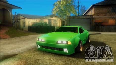 Elegy Rocket Bunny Edition for GTA San Andreas