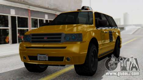Vapid Landstalker Taxi SR 4 Style for GTA San Andreas