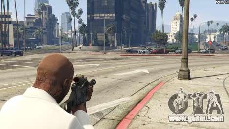 GTA 5 Battlefield 3 G36C v1.1 third screenshot