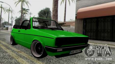 Volkswagen Golf Cabrio VR6 for GTA San Andreas
