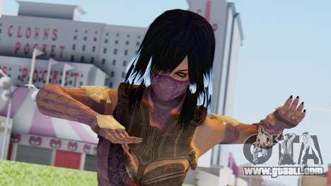 [MKX] Mileena for GTA San Andreas
