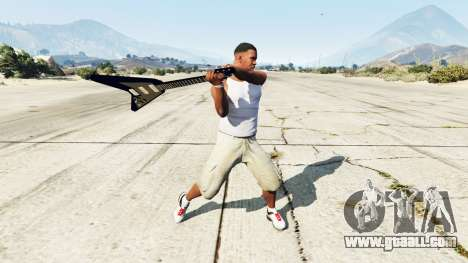 Electric Guitar Gibson Flying V for GTA 5