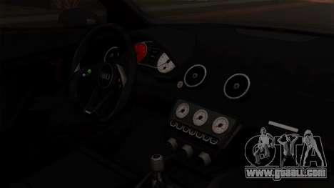 Audi A1 Quattro Clubsport for GTA San Andreas right view