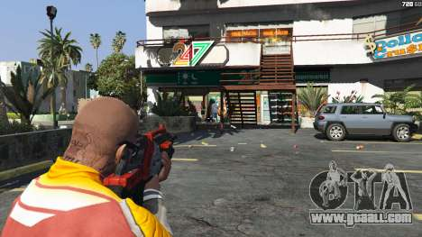 GTA 5 M-76 Revenant из Mass Effect 2 fifth screenshot