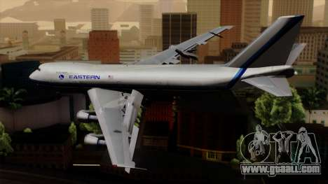Boeing 747 Eastern for GTA San Andreas left view