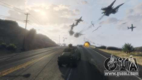 Angry Planes for GTA 5