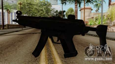 Original HD MP5 for GTA San Andreas second screenshot