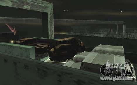 Automotive junkyard v0.1 for GTA San Andreas eighth screenshot