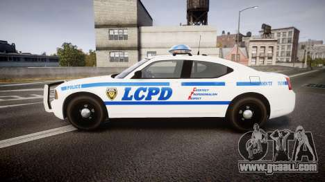 Dodge Charger LCPD for GTA 4 left view