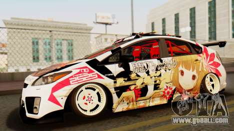 Toyota Prius JDM 2011 Itasha for GTA San Andreas