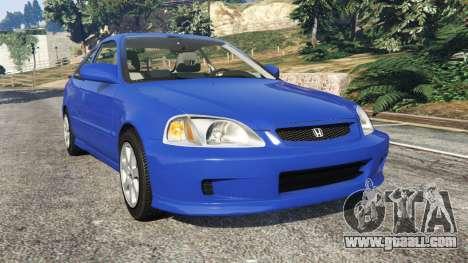 Honda Civic Si 1999 for GTA 5