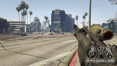 GTA 5 Battlefield 3 G36C v1.1 eighth screenshot