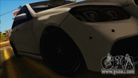Mercedes-Benz E63 Brabus BUFG Edition for GTA San Andreas right view