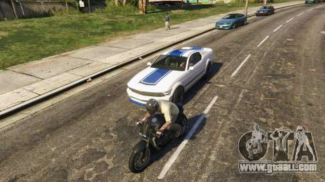 GTA 5 Additional models of people and vehicles 0.8 a