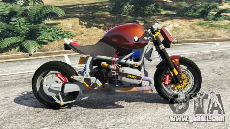 GTA 5 BMW R1100R (Naked) left side view