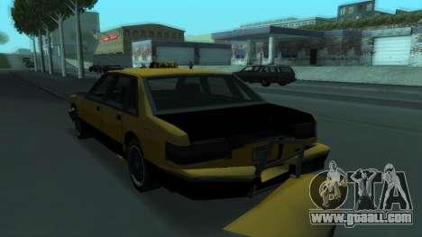 New Taxi for GTA San Andreas wheels