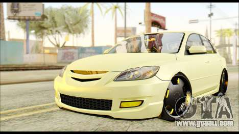 Mazdaspeed 3 Daglow v2 for GTA San Andreas