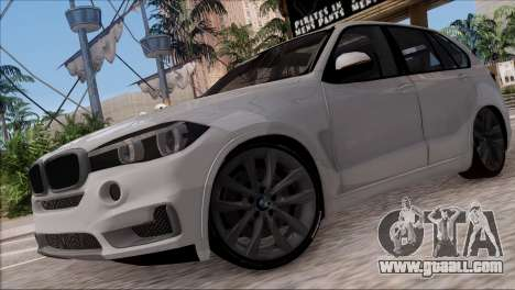 BMW X5 F15 BUFG Edition for GTA San Andreas left view