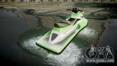 GTA V Speedophile Seashark for GTA 4 back left view