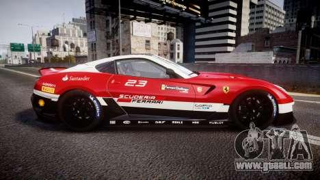 Ferrari 599XX 2010 Scuderia Ferrari for GTA 4 left view