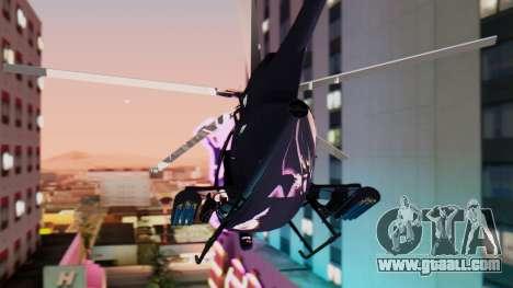 GTA 5 Buzzard for GTA San Andreas left view