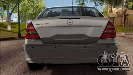 Mercedes-Benz E55 W211 AMG for GTA San Andreas back view