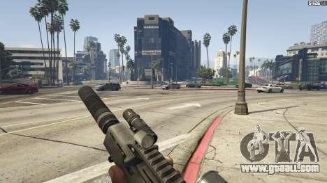 GTA 5 Battlefield 3 G36C v1.1 fifth screenshot