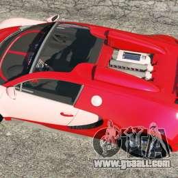 bugatti veyron grand sport for gta 5. Black Bedroom Furniture Sets. Home Design Ideas