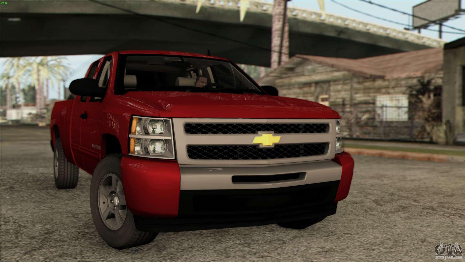 Chevrolet Silverado 1500 LT 2010 for GTA San Andreas