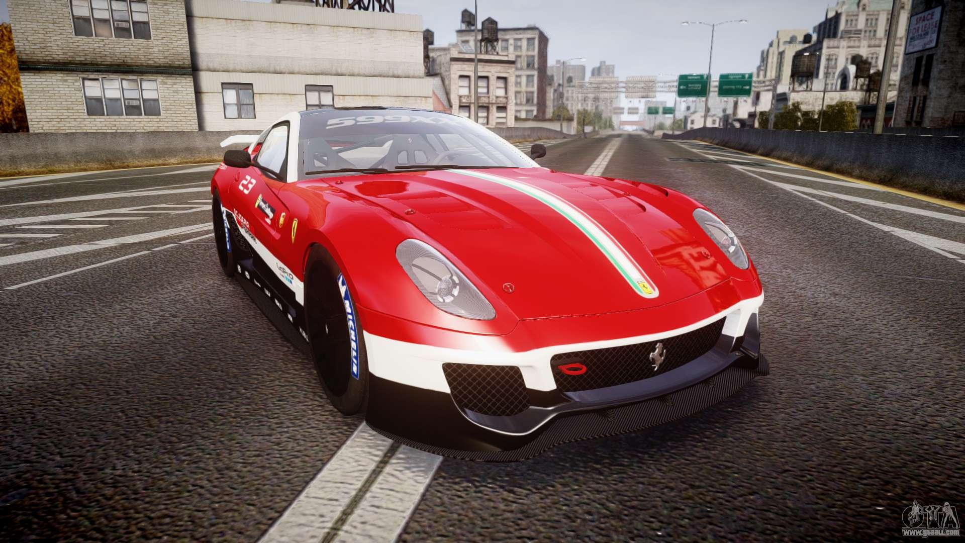 Ferrari 599xx 2010 scuderia ferrari for gta 4 vanachro Gallery