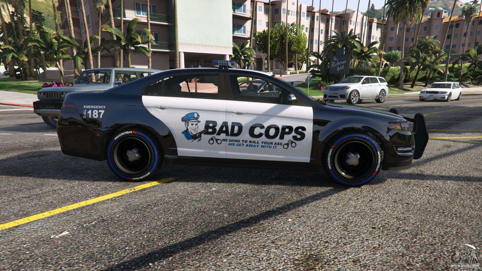 Bad Cops Lspd Livery 1 1 For Gta 5