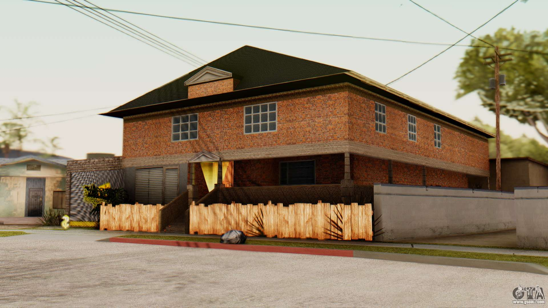 The Cj House For Gta San Andreas