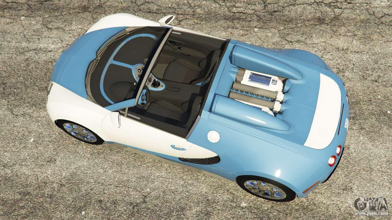 bugatti veyron grand sport v2 0 for gta 5. Black Bedroom Furniture Sets. Home Design Ideas