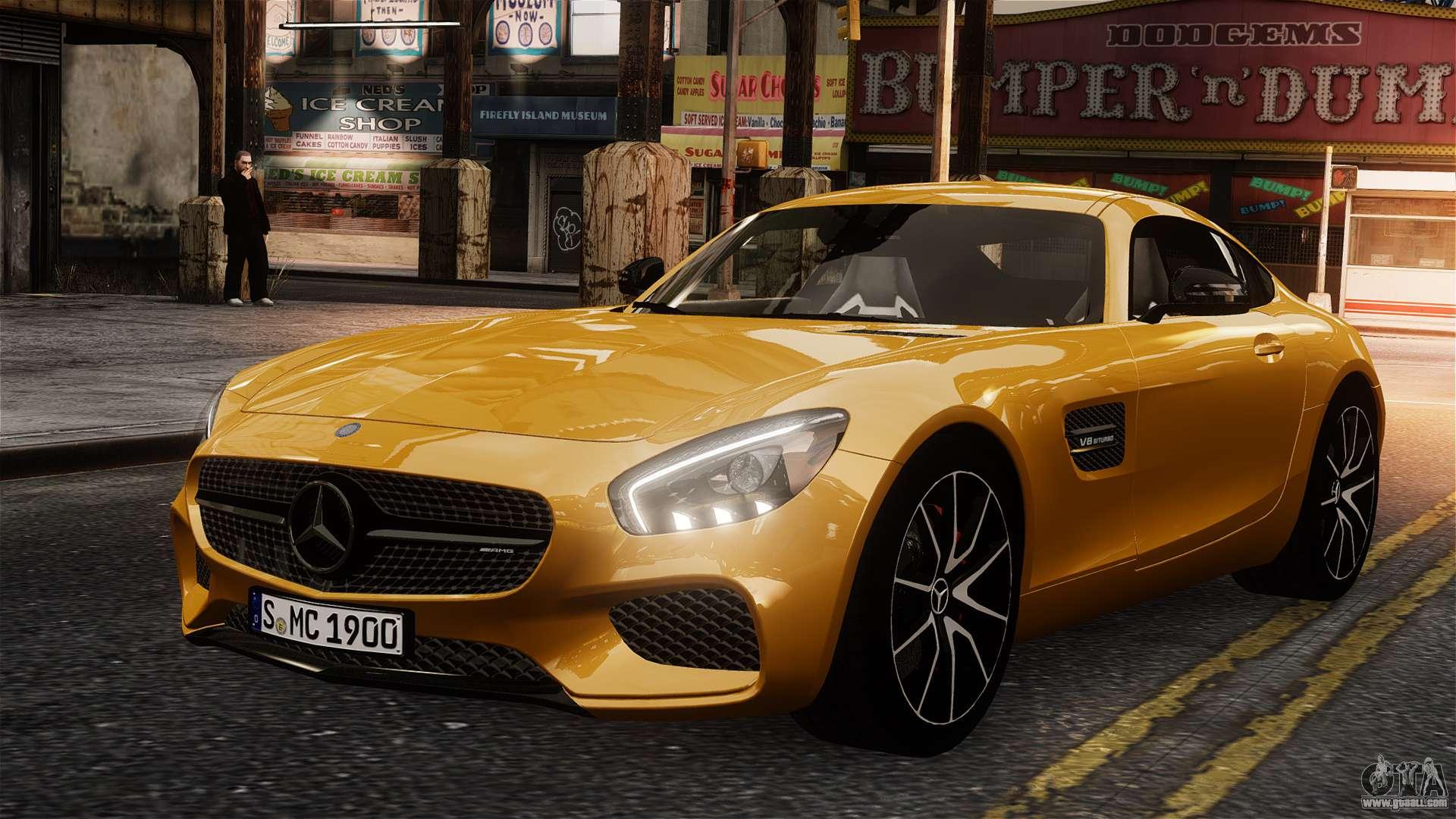 Mercedes benz sls amg gt 2016 for gta 4 for Mercedes benz sls amg gt