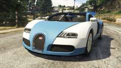 Bugatti Veyron Grand Sport v2.0 for GTA 5