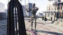 Statue T-800