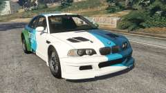 BMW M3 GTR E46 PJ1 for GTA 5
