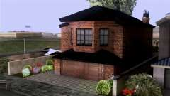 CJs New Brick House for GTA San Andreas