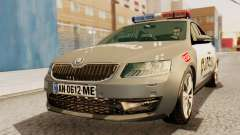 Skoda Octavia A7 Georgia Police for GTA San Andreas