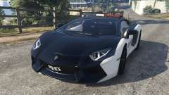 Lamborghini Aventador LP700-4 Police v3.5 for GTA 5
