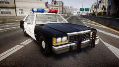 Ford LTD Crown Victoria 1987 LAPD [ELS] for GTA 4