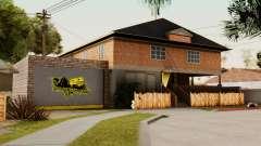 The CJ house for GTA San Andreas