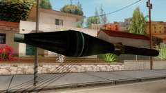 Original HD Missile for GTA San Andreas