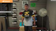 Form for Fnatic Franklin for GTA 5