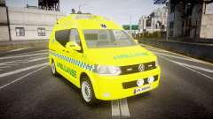 Volkswagen Transporter Norwegian Ambulance [ELS]
