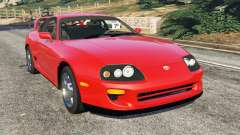 Toyota Supra RZ 1998 for GTA 5