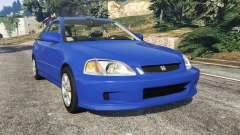 Honda Civic Si 1999 for GTA 5