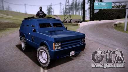 The Armored Car. for GTA San Andreas