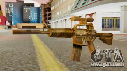 CAR-15 SA Style for GTA San Andreas