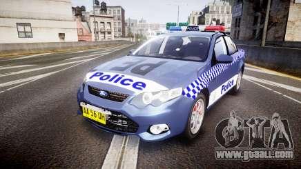Ford Falcon FG XR6 Turbo NSW Police [ELS] for GTA 4